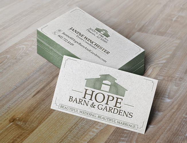 Hope Barn & Gardens Business Cards